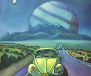 alien, art, and grunge image