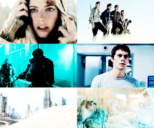 teresa, thomas, and the scorch trials image