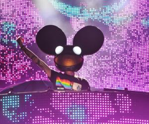 deadmau5, electro, and music image