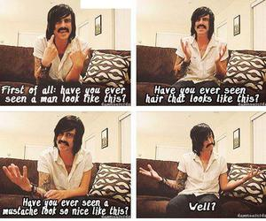 kellin quinn, sleeping with sirens, and mustache image