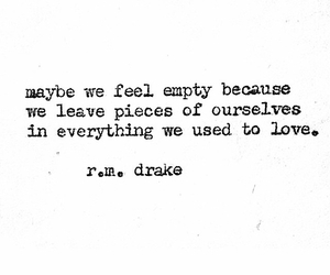 quote, love, and empty image