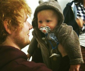 ed sheeran, baby, and baby lux image