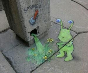 spring, art, and street art image