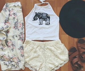 fashion, outfits, and girly image