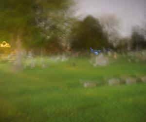 blurry, creepy, and night image