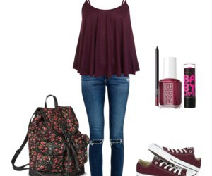 fashion, school, and clothes image