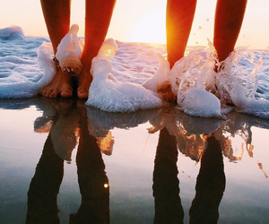 amazing, beach, and feets image