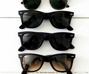 sunglasses, summer, and black image