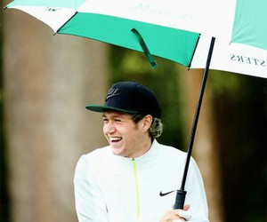 niall horan, one direction, and smile image