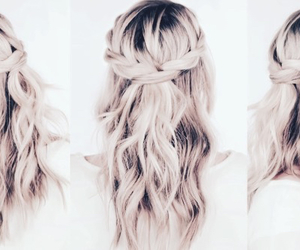 beautiful, hair, and pretty hair image