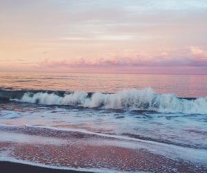 beach, sea, and ocean image