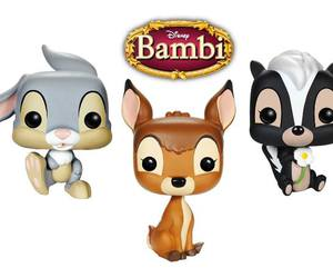 flower, bambi, and rabbit image