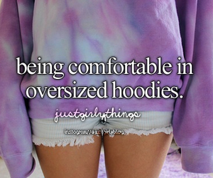 hoodies, oversized, and comfortable image