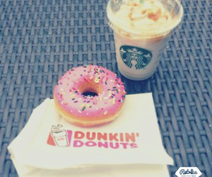 dunkin donuts, starbucks, and lecker;-) image
