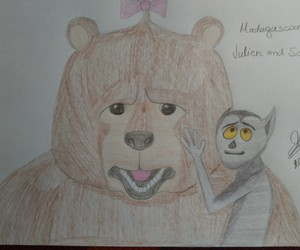 bear, drawing, and funny image