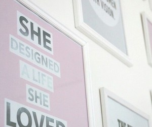 pink, life, and decoration image