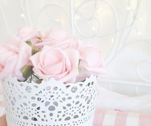pink, pastel, and rose image