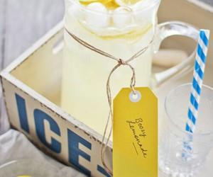 drink and lemonade image