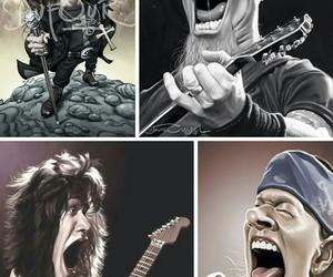 axl rose, Eddie Van Halen, and gods image