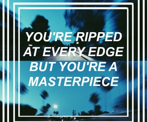 quotes, halsey, and Lyrics image