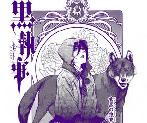 black butler, anime, and kuroshitsuji image