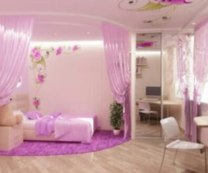 room and purple image