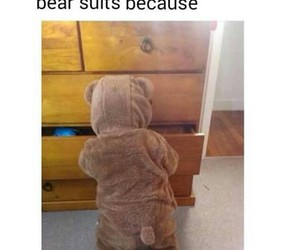 baby, suit, and wish image