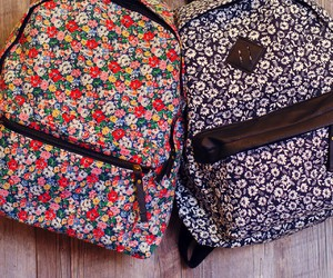 bag, bff, and floral image