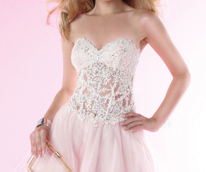 promgirl, littlewhitedress, and lacepromdress image