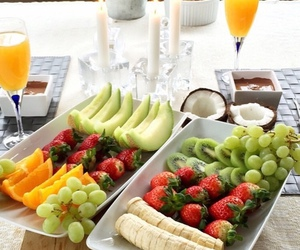 fruit, healthy, and breakfast image