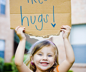 cute, hugs, and free hugs image