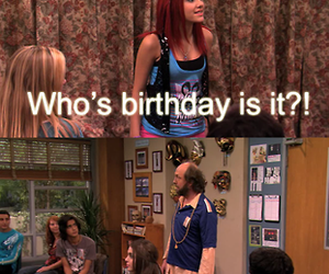 ariana grande, victorious, and birthday image