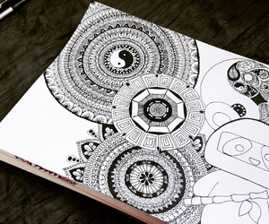 doodle, art, and drawing image
