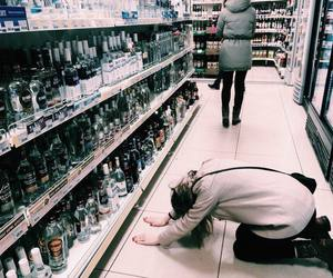 alcohol, Get, and sad image