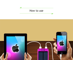 power bank, travel charger, and external battery image