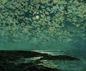 art and moonlight image