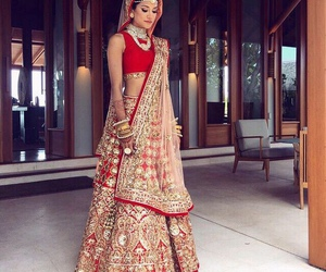 india, bollywood, and dress image
