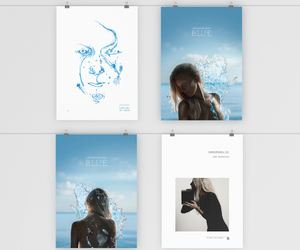 art work, blue, and concept image