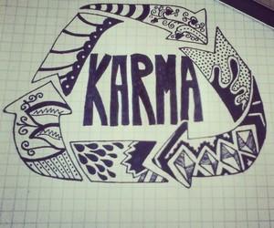 drawing and karma image
