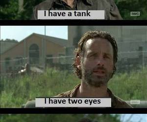 the walking dead, twd, and funny image