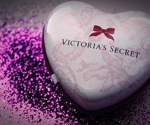 Victoria's Secret, heart, and glitter image