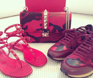 bag, shoes, and Valentino image