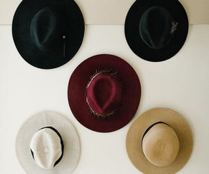 colors, fashion, and hats image
