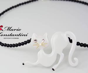 cat, kolie, and necklace image