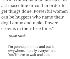 feminism, Taylor Swift, and women image