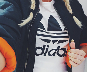 adidas, adidas originals, and blonde image