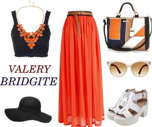 amazing, handbag, and long skirt image
