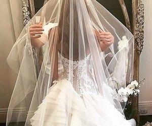 wedding, dress, and luxury image