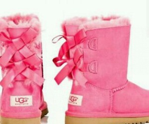 boots, pink, and pinky image