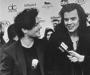 larry, love, and louis tomlinson image
